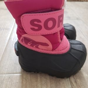 Sorel Toddler Snow Commander Boots Size 4